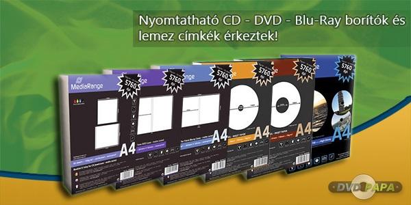�rhat� CD DVD Blu-Ray lemez olcs�n