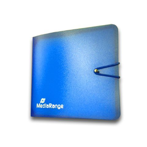 MediaRange CD - DVD - Blu Ray book blue 12