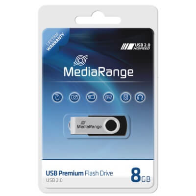 MediaRange 8GB pendrive /MR908/