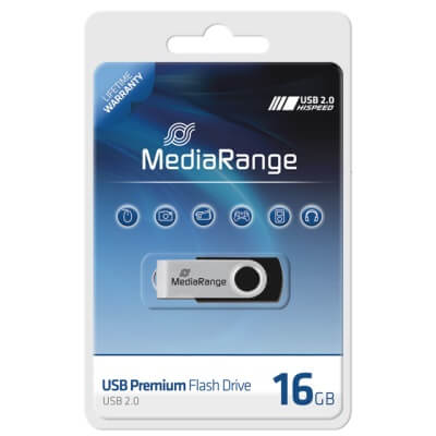 MediaRange 16GB pendrive /MR910/