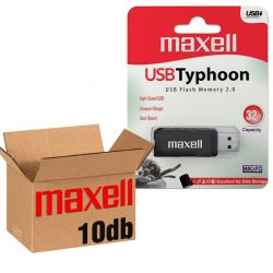 Maxell USB 2.0 PENDRIVE TYPHOON 32GB - 10 DB-OS CSOMAG