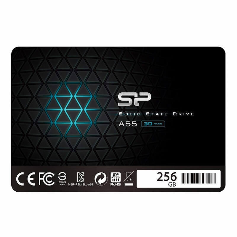 Silicon Power ACE A55 256GB 2,5 COL SATA3 550/450 MB/S 7MM SSD MEGHAJTÓ