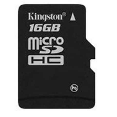 Kingston MicroSDHC 16GB CL4