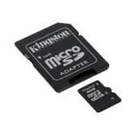 Kingston MicroSDHC 8GB CL4 +adapter