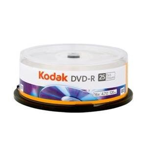 Kodak DVD-R 16X Full Printable Cake (25)