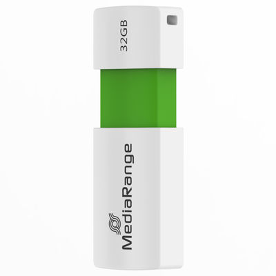 MediaRange 32GB pendrive Color E zöld /MR973/